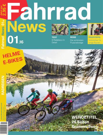Fahrrad News March 15, 2016 00:00