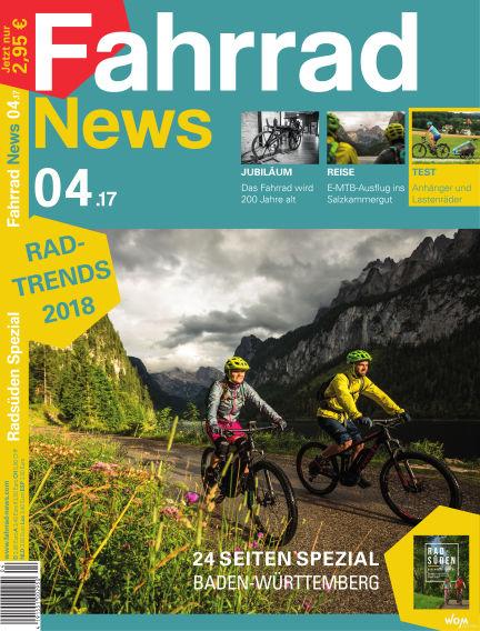 Fahrrad News August 23, 2017 00:00