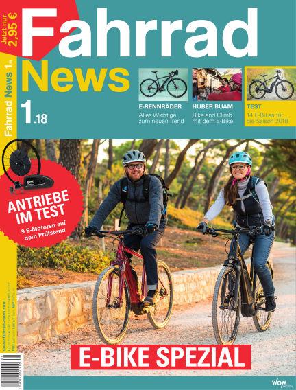 Fahrrad News March 18, 2018 00:00