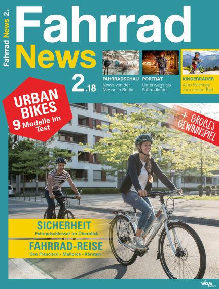 Fahrrad News April 15, 2018 00:00
