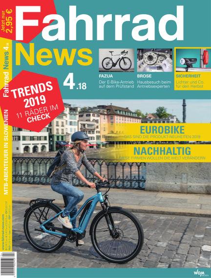Fahrrad News August 05, 2018 00:00