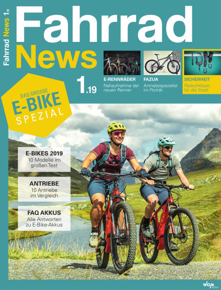 Fahrrad News March 13, 2019 00:00