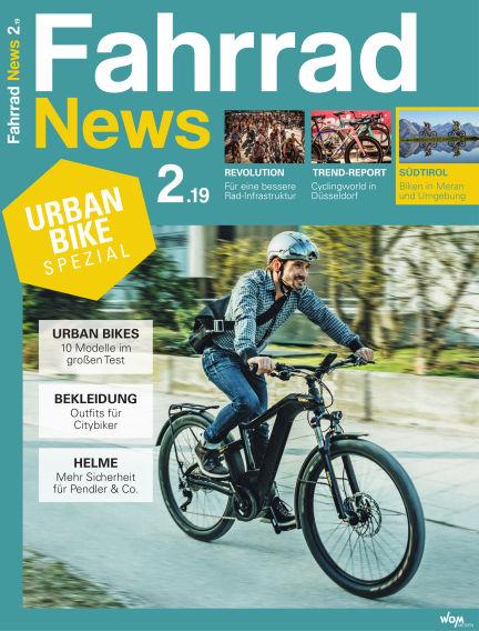 Fahrrad News April 13, 2019 00:00