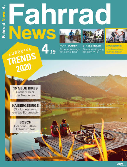 Fahrrad News August 28, 2019 00:00