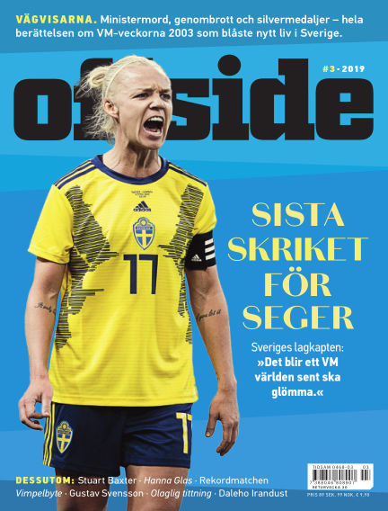 Offside May 30, 2019 00:00