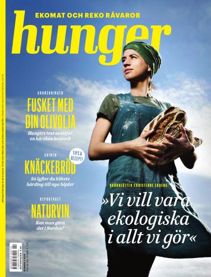 Hunger (Inga nya utgåvor) June 09, 2016 00:00