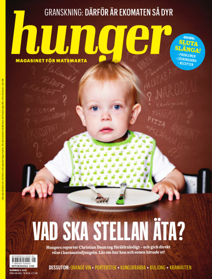 Hunger (Inga nya utgåvor) October 13, 2015 00:00