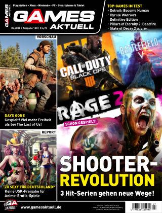 Games Aktuell 07-2018