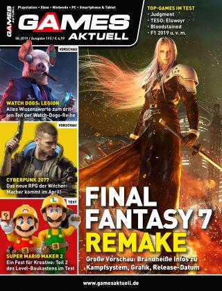 Games Aktuell 08-2019