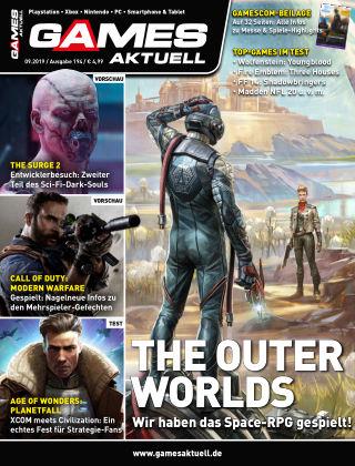 Games Aktuell 09-2019