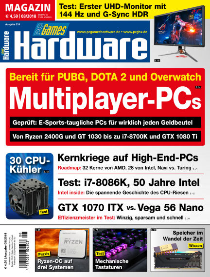 PC Games Hardware July 04, 2018 00:00