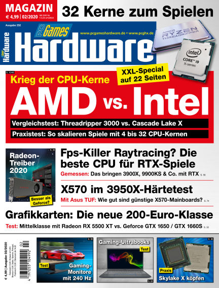 PC Games Hardware January 02, 2020 00:00