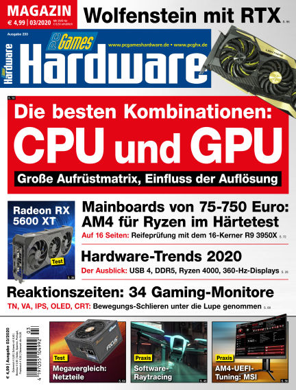 PC Games Hardware February 05, 2020 00:00