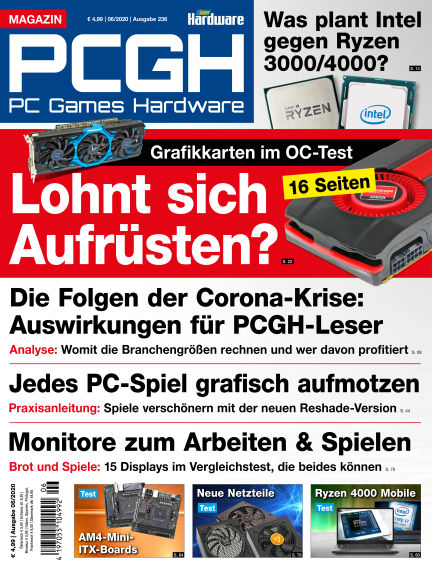 PC Games Hardware May 06, 2020 00:00