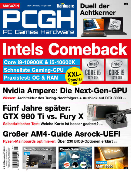 PC Games Hardware June 03, 2020 00:00