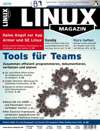 Linux-Magazin 02-2018