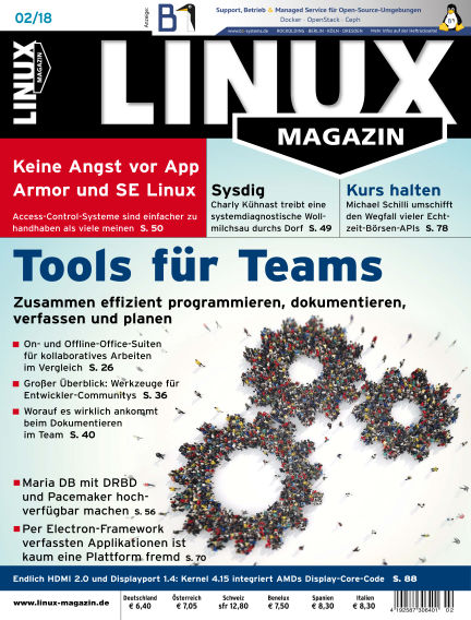 Linux-Magazin January 04, 2018 00:00