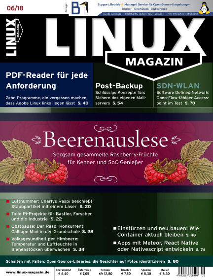 Linux-Magazin May 03, 2018 00:00