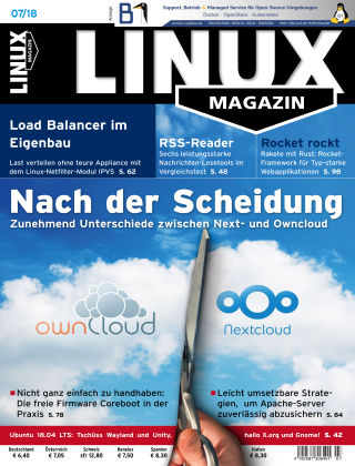 Linux-Magazin 07-2018