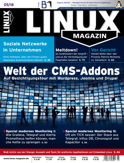 Linux-Magazin April 05, 2018 00:00
