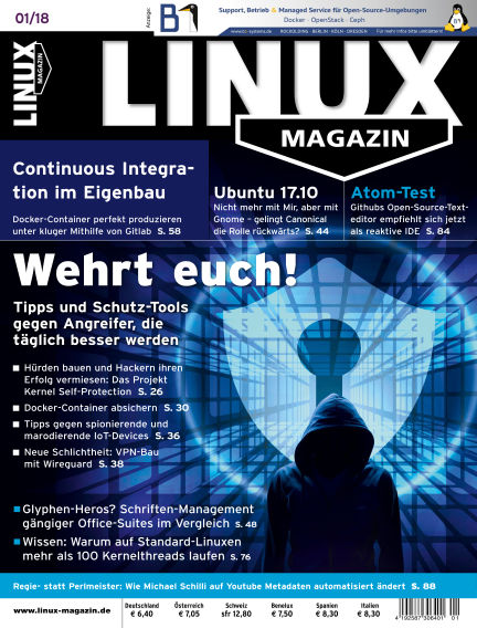 Linux-Magazin December 07, 2017 00:00