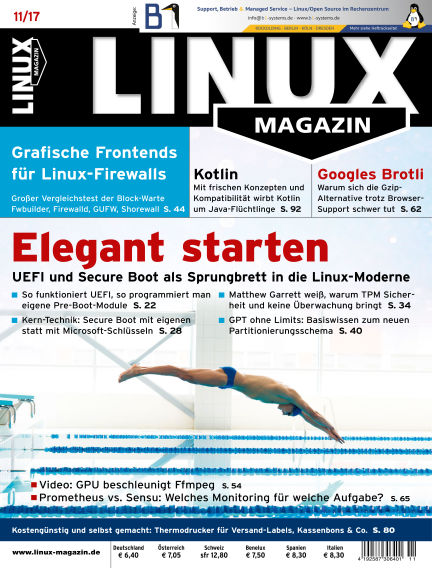 Linux-Magazin October 05, 2017 00:00
