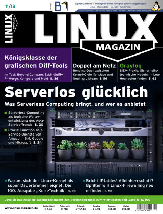 Linux-Magazin 11-2018