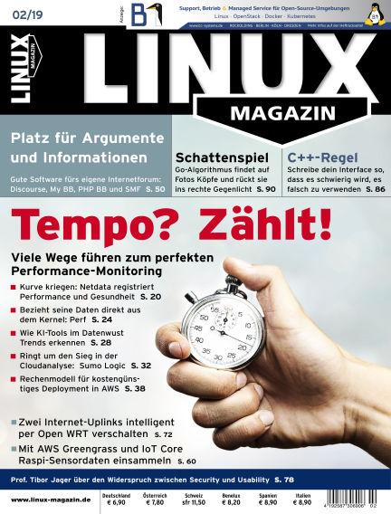 Linux-Magazin January 03, 2019 00:00