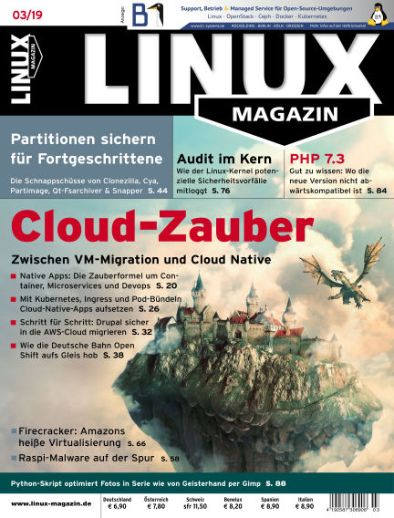 Linux-Magazin February 07, 2019 00:00