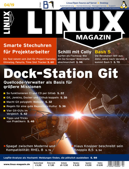 Linux-Magazin March 07, 2019 00:00
