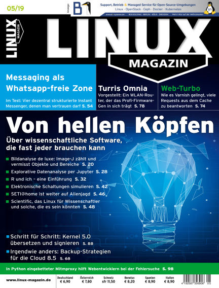 Linux-Magazin April 04, 2019 00:00