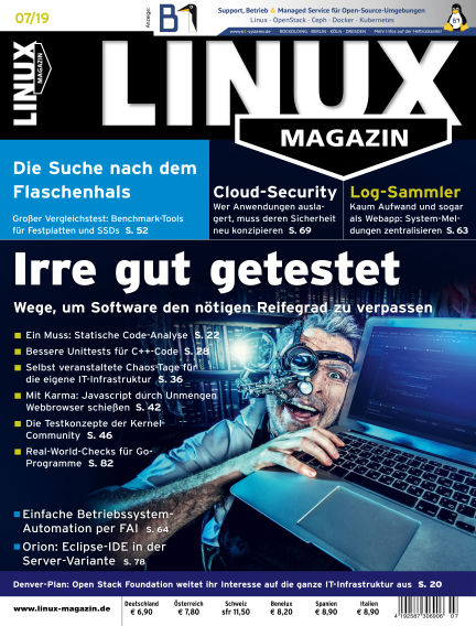 Linux-Magazin June 06, 2019 00:00