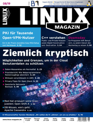 Linux-Magazin 08-2019