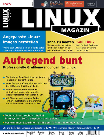 Linux-Magazin August 08, 2019 00:00