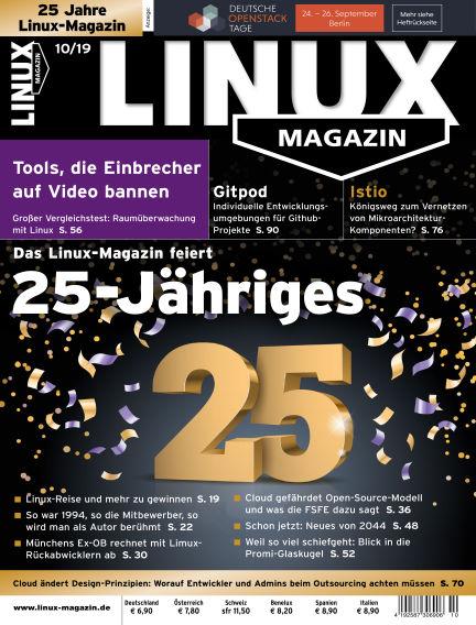 Linux-Magazin September 05, 2019 00:00