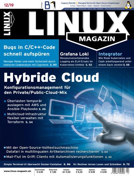 Linux-Magazin November 07, 2019 00:00