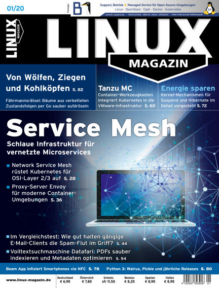 Linux-Magazin December 05, 2019 00:00