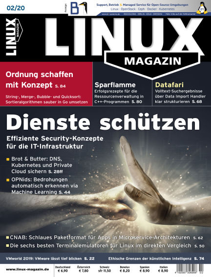 Linux-Magazin January 02, 2020 00:00