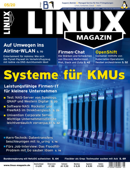 Linux-Magazin April 02, 2020 00:00