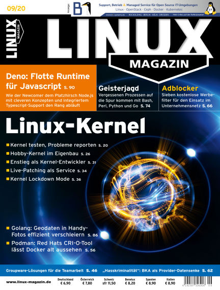 Linux-Magazin August 06, 2020 00:00