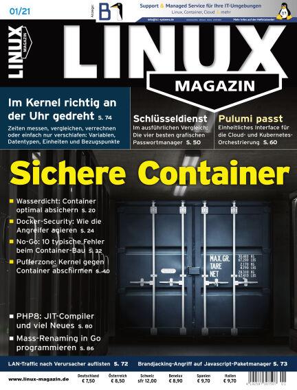 Linux-Magazin December 03, 2020 00:00