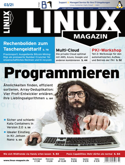 Linux-Magazin February 04, 2021 00:00