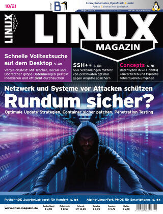 Linux-Magazin 10-2021