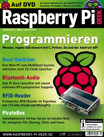 Raspberry Pi Geek February 08, 2018 00:00