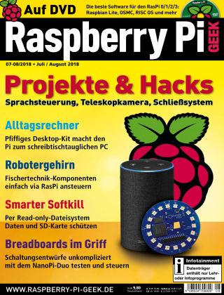 Raspberry Pi Geek 08-2018