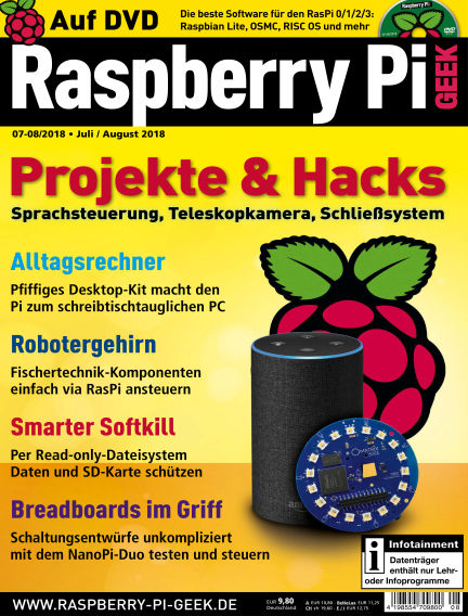 Raspberry Pi Geek June 07, 2018 00:00