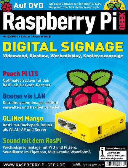Raspberry Pi Geek December 07, 2017 00:00