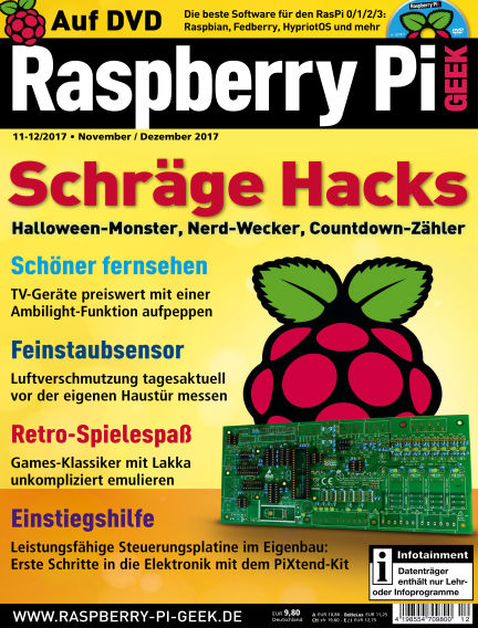 Raspberry Pi Geek October 05, 2017 00:00