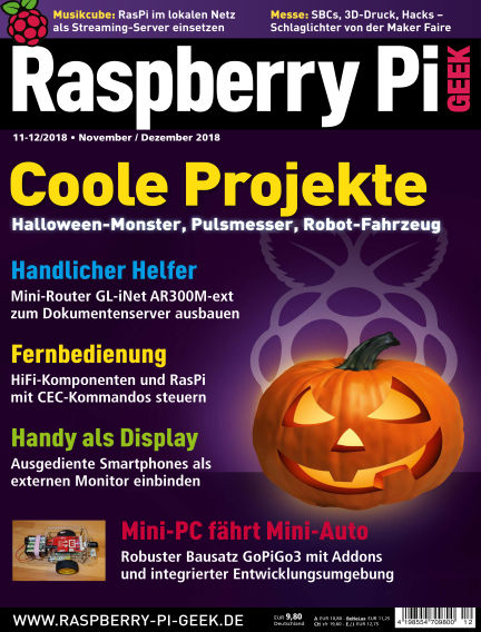 Raspberry Pi Geek October 04, 2018 00:00