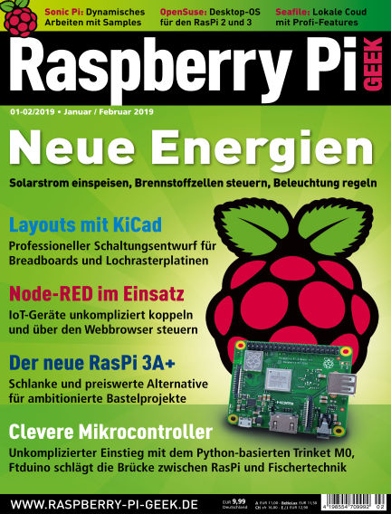 Raspberry Pi Geek December 06, 2018 00:00